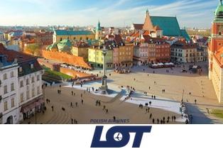 Из Минска в Польшу от 99 €. Специальные тарифы от авиакомпании LOT!