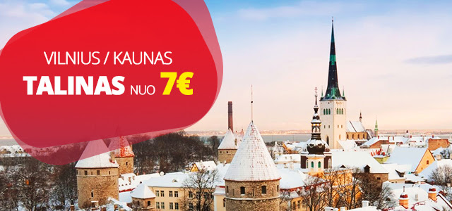 Супер предложение! Билеты на автобус из Вильнюса в Таллин и обратно от 7 €!