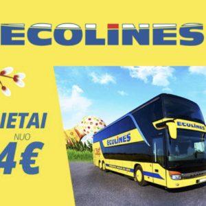 Билеты на автобус из Минска в Вильнюс за €14