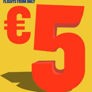Дешевые авиабилеты с вылетом из Литвы  от 5 евро!