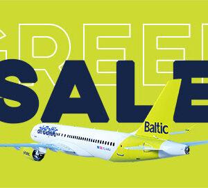 Самая большая распродажа этого лета (с вылетом из Вильнюса) началась!